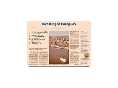 El Financial Times  realza a la economía paraguaya