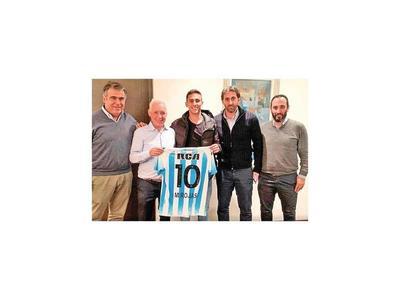 """Matías Rojas es el nuevo """"10"""" de Racing"""