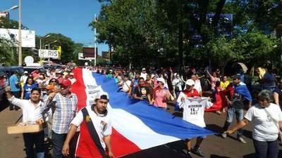 Ciudad del Este en paro general para exigir la prisión del clan Zacarías