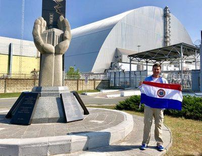 Paraguayo cuenta su experiencia en Chernobyl