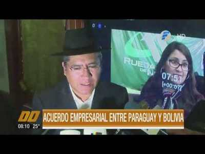 Acuerdo empresarial entre Paraguay y Bolivia