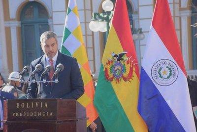 """""""Jallalla Bolivia"""", grita Abdo en La Paz"""