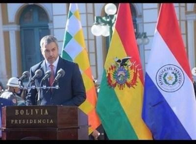 El Presidente participó del acto de recordación de la firma de la Paz del Chaco