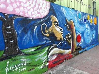 Murales, la magia artística que puede pintar de vivacidad nuestros días grises