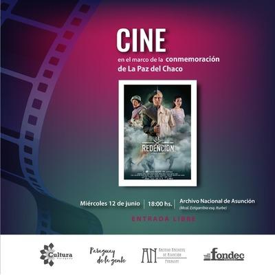 """Por la Paz del Chaco, se proyectará esta noche la película """"La Redención"""""""