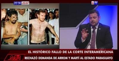 Sin garantías de que Brasil vigile a Arrom y Martí