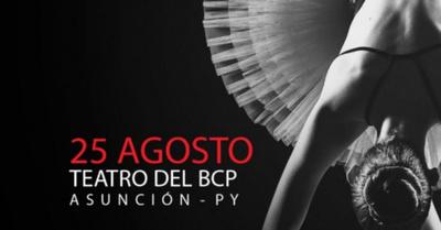 Máxima gala de Ballet en el Banco Central del Paraguay