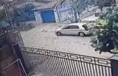 Delincuentes desvalijaron una casa en Lambaré