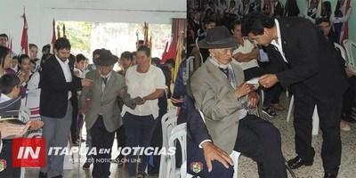 EN CNEL. BOGADO CONMEMORARON LOS 84 AÑOS DE LA PAZ DEL CHACO.