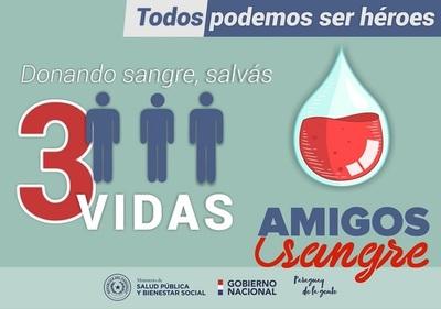 Salud desarrolla actividades en el marco de la semana del donante de sangre