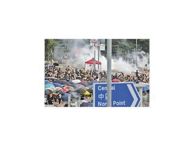 Violenta protesta en Hong Kong por  ley de extradición a China