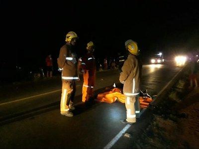 Hombre falleció tras ser atropellado y el responsable se fugó