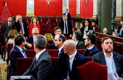 Juicio a ultranacionalistas catalanes
