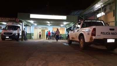 ACCIDENTE EN B° LAS DELICIAS DEJA UN MOTOCICLISTA GRAVEMENTE HERIDO