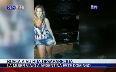 Madre desaparece en Argentina, denuncian familiares