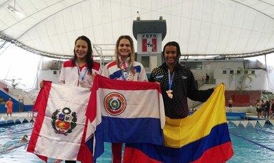 Luana cerró 1ª jornada con doble oro, récords y reconocimiento