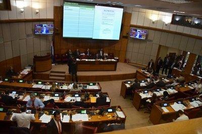 Comenzó la sesión preparatoria de la Cámara de Senadores