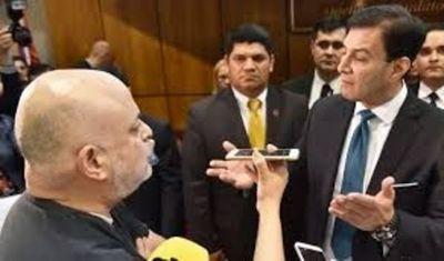 Payo Cubas aprieta a Silvio Ovelar para que presente su declaración jurada de bienes al concluir su mando