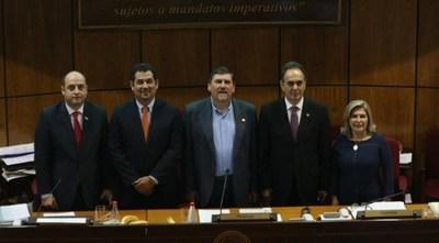 BLAS LLANO ES EL NUEVO PRESIDENTE DEL CONGRESO