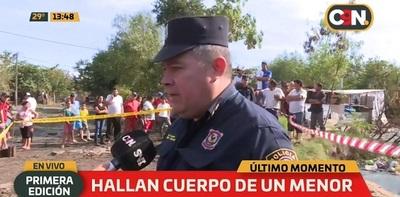Hallan cuerpo sin vida de niño en zona de Costanera de Asunción
