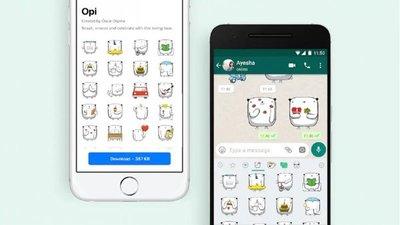 Whatsapp suma nuevos stickers a sus opciones en iOS y Android
