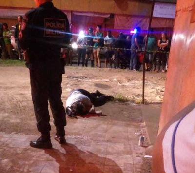 Atentado deja un muerto en Pedro Juan Caballero