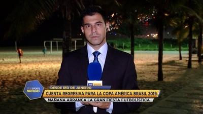 Río de Janeiro comienza a vivir el inicio de la Copa América