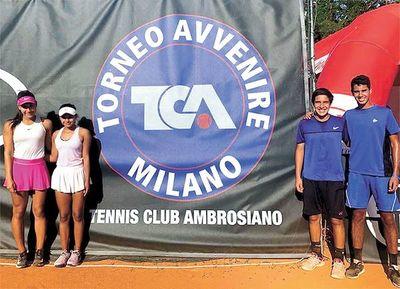 Paraguayos en final de dobles