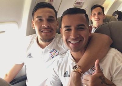 La Albirroja ya se encuentran en Brasil para el debut en la Copa América