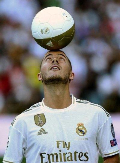 """""""No soy un galáctico. Espero serlo un día. Soy Eden Hazard"""""""