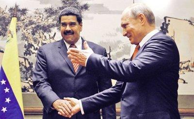 Rusia refuerza influencia en territorio venezolano
