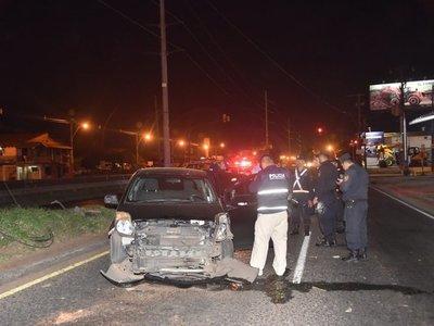 Interceptan a un hombre y lo matan a balazos en Asunción