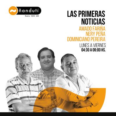 Las primeras noticias con Amado Farina y Domiciano Pereira