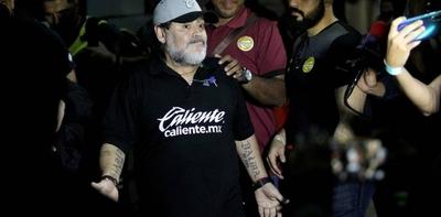 HOY / Maradona se queda en Argentina por cuestiones de salud