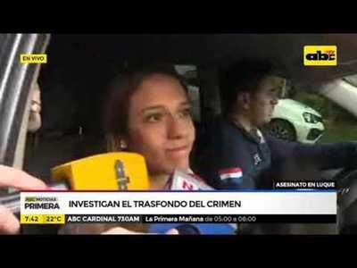 Asesinato en Luque: Investigan el trasfondo del crimen