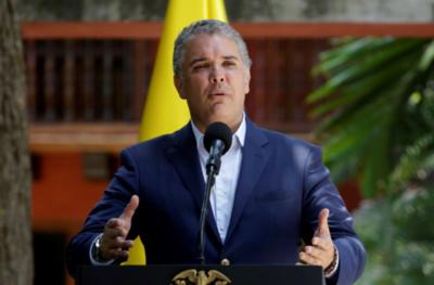 Duque asegura que los asesinatos de líderes sociales disminuyeron 32 % en Colombia