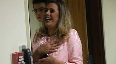 "El padre de la diputada Kattya González ya cobró 230 millones como ""jubilado vip"": solo aportó 5 años como ex senador"