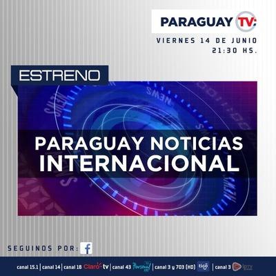 Paraguay TV estrena programa de noticias internacionales
