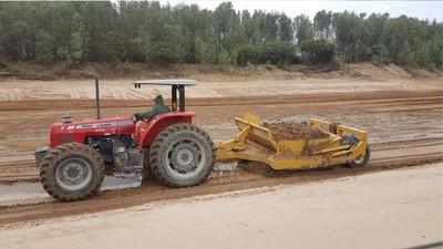 Pese a lluvias contratistas continuaron los trabajos en zona del Pilcomayo