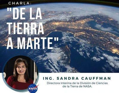 Experta de la NASA visitará nuestro país