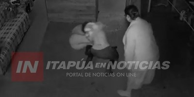 JOVEN RECIBE BRUTAL GOLPIZA DE PARTE DE SU COMPAÑERA DE TRABAJO
