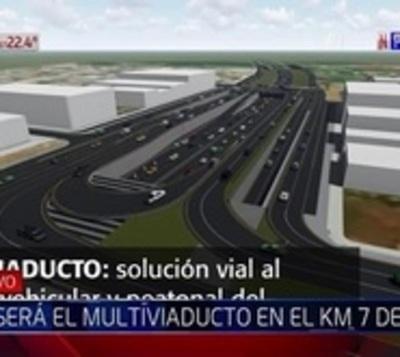 Arrancaron las obras del multiviaducto en Ciudad del Este