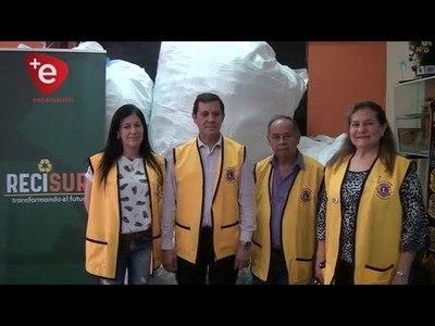CLUB DE LEONES ENTREGA TAPITAS DE PLÁSTICO PARA EL HOSPITAL ONCOLÓGICO