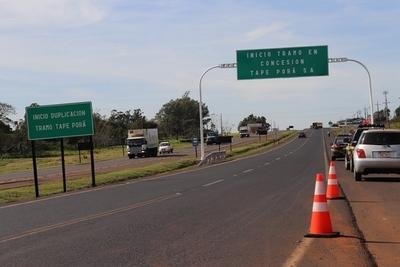 Tape Porã habilitó oficialmente la duplicación de la ruta 7