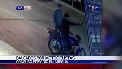 Motociclistas balearon a un joven en confuso episodio