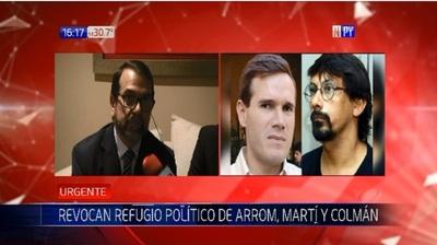 Expulsión de Arrom y Martí está en manos de Sergio Moro
