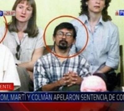 Arrom, Martí y Colmán apelan revocatoria de status de refugiados