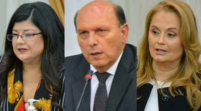 HOY / Carolina Llanes, Linneo Ynsfrán y Alma Méndez: terna para llenar un cargo de la Corte