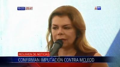 Tribunal de Apelaciones confirma imputación de Sandra McLeod