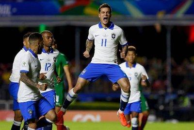 La selección de Brasil y un centenar de triunfos en la Copa América